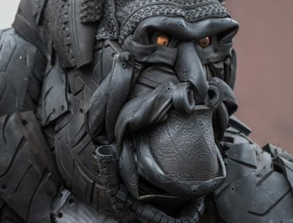 Gorilla - detail 1