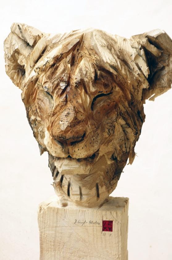 """Jurgen Lingl-Rebetez - """"Jeune Lion Au Repos"""""""
