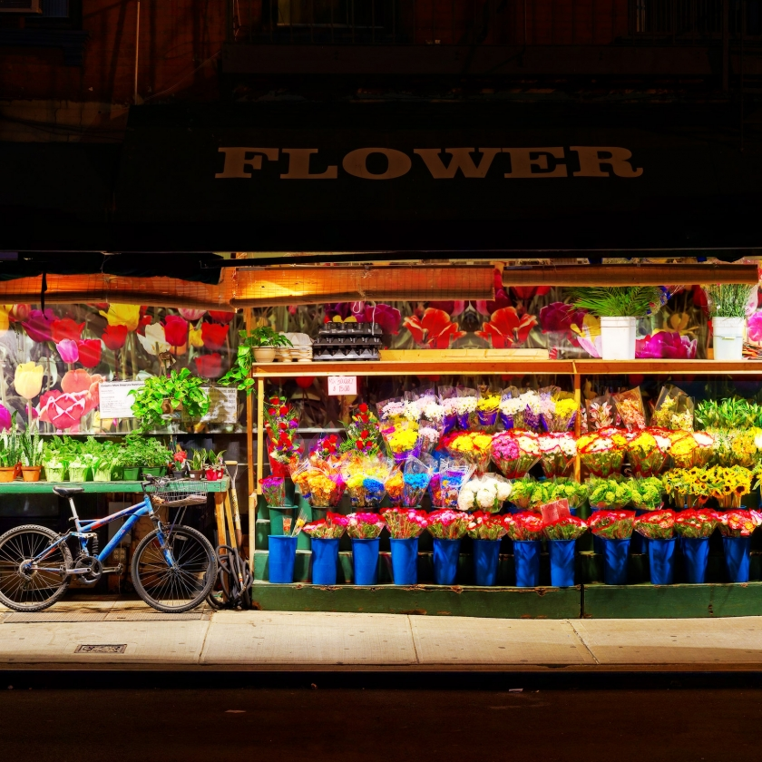 "Luc Dratwa - ""The Flower Shop"""