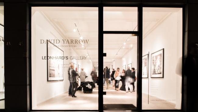 "David Yarrow ""Wild Encounters"" expo at Leonhard's Gallery"