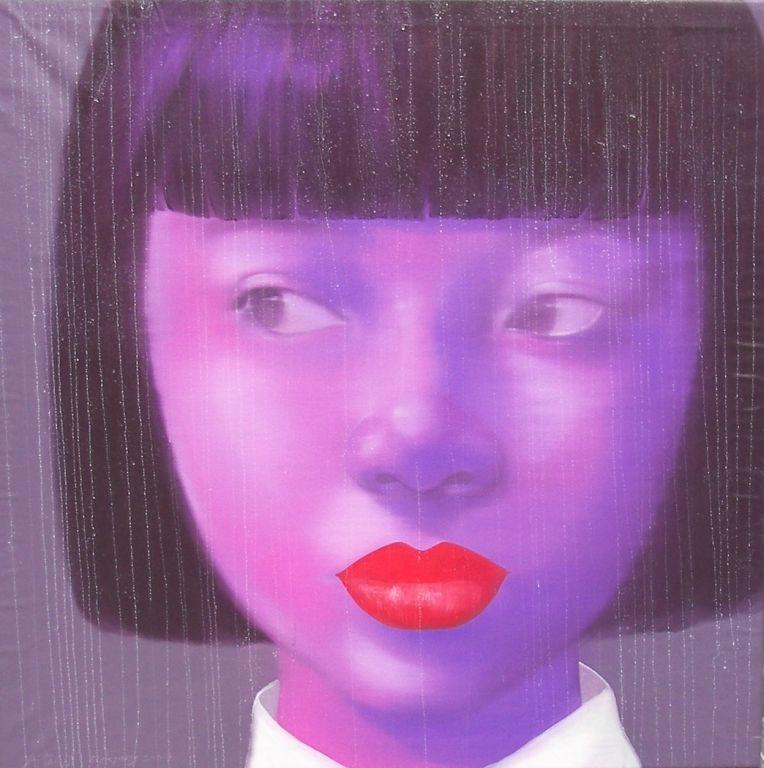 "Attasit Pokpong - ""Purple Girl"""
