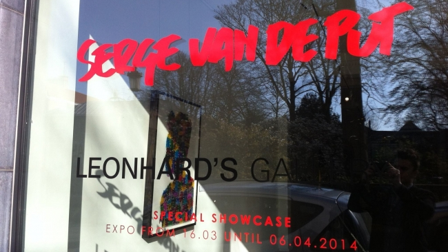 Serge Van De Put - expo - Leonhard's Gallery