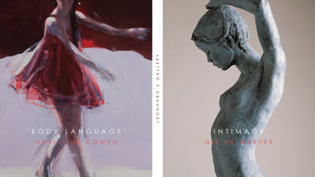 Christine Comyn 'Body Language' & Gis De Maeyer 'Intimacy' - Leonhard's Gallery