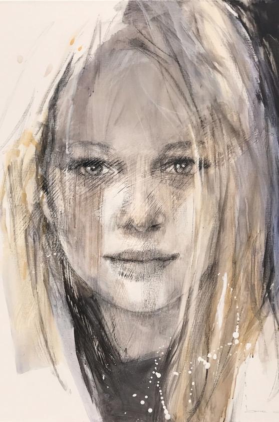 Christine Comyn - Annicka - 120 x 100 cm