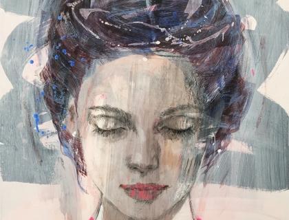 Christine Coymn - Constanze - 160 x 130 cm
