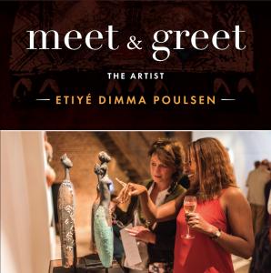 Meet & Greet Etiyé Dimma Poulsen - Expo - Leonhard's Gallery