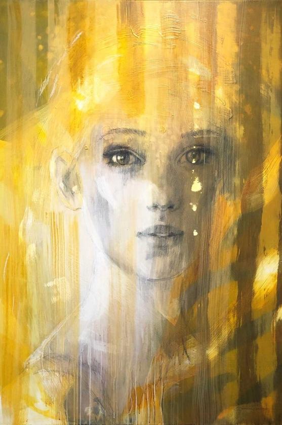 Mellow Yellow - Christine Comyn - Leonhard's Gallery