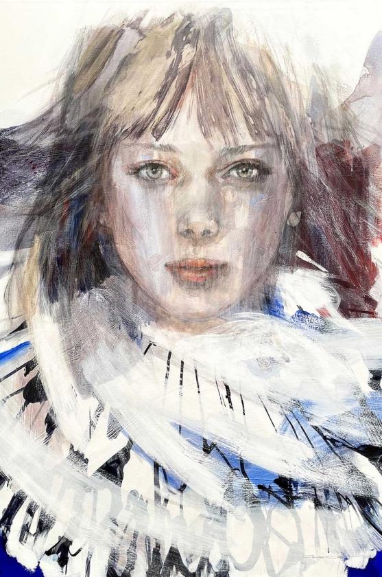 Madame Butterfly - Christine Comyn - Leonhard's Gallery