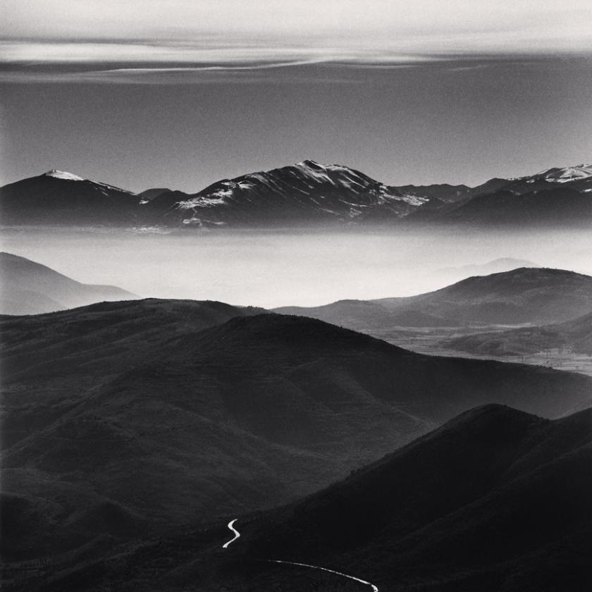 Mountain-Road,-Calascio,-Abruzzo,-Italy.-2016