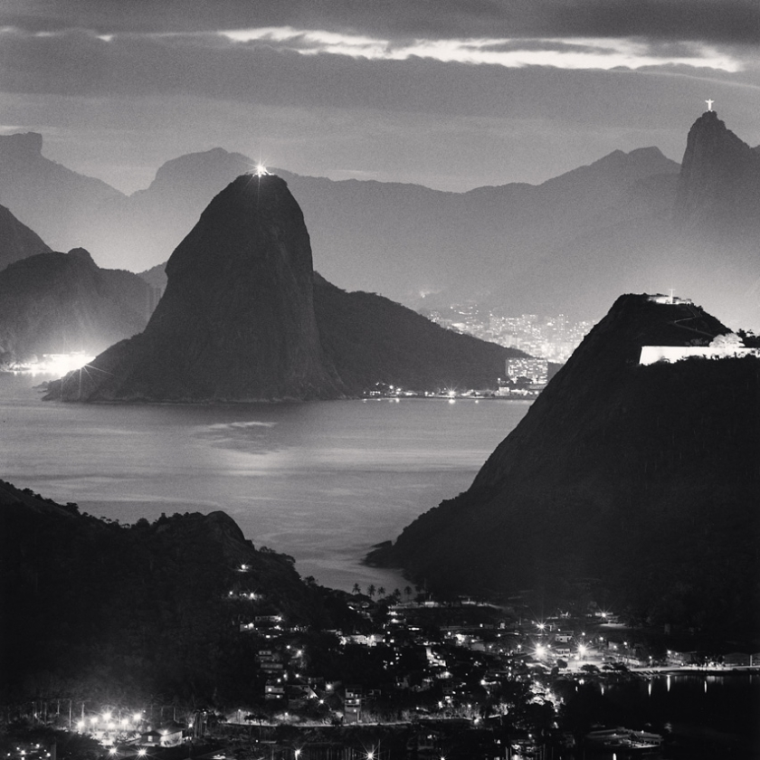 Night-Lights,-Rio-de-Janiero,-Brazil.-2009