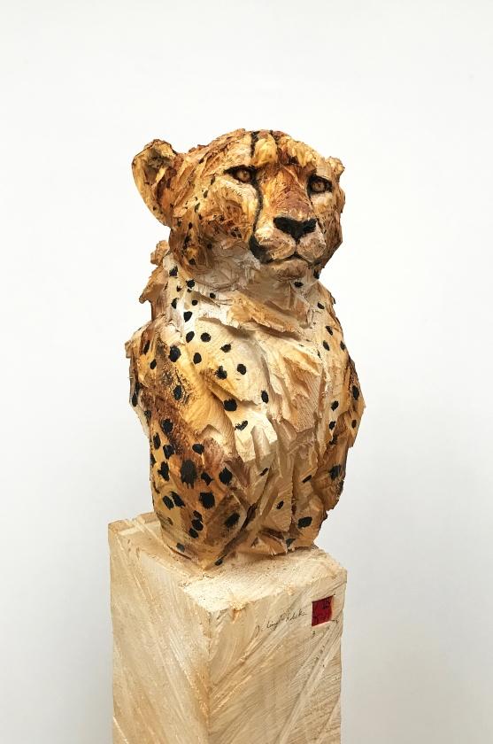 Buste De Guépard - 03.11.16 - 170 x 25 x 37 cm