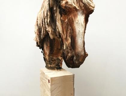 Cheval Avec Des Long Cheveux - front - 25.05.17 - 193 x 107 x 30 cm