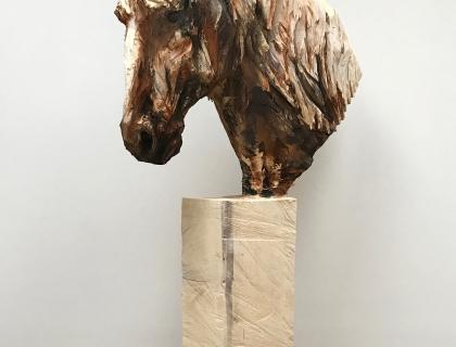 Cheval Avec Des Long Cheveux - full - 25.05.17 - 193 x 107 x 30 cm