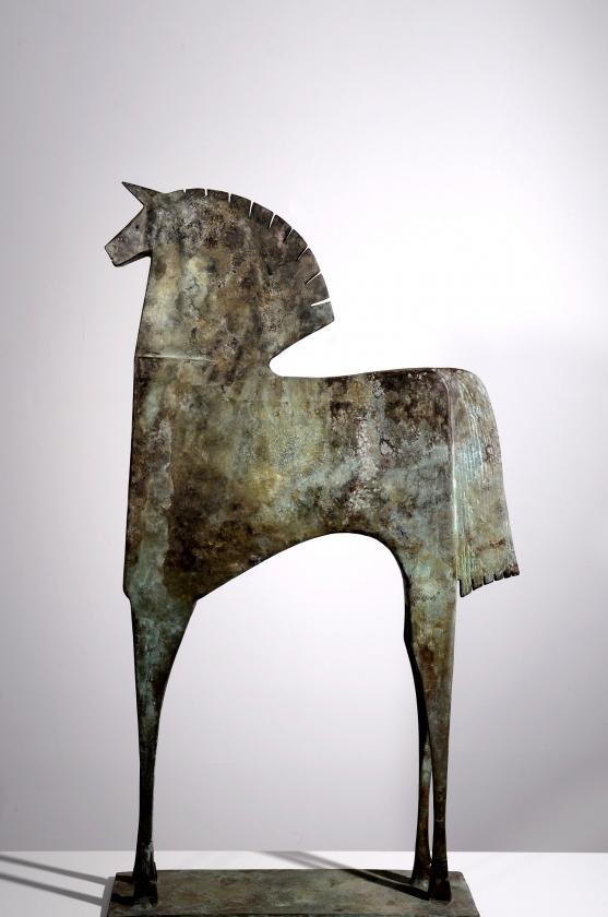 Caballo Racío - Carlos Mata - Leonhard's Gallery