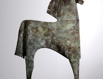 Caballo Racío, back - Carlos Mata - Leonhard's Gallery