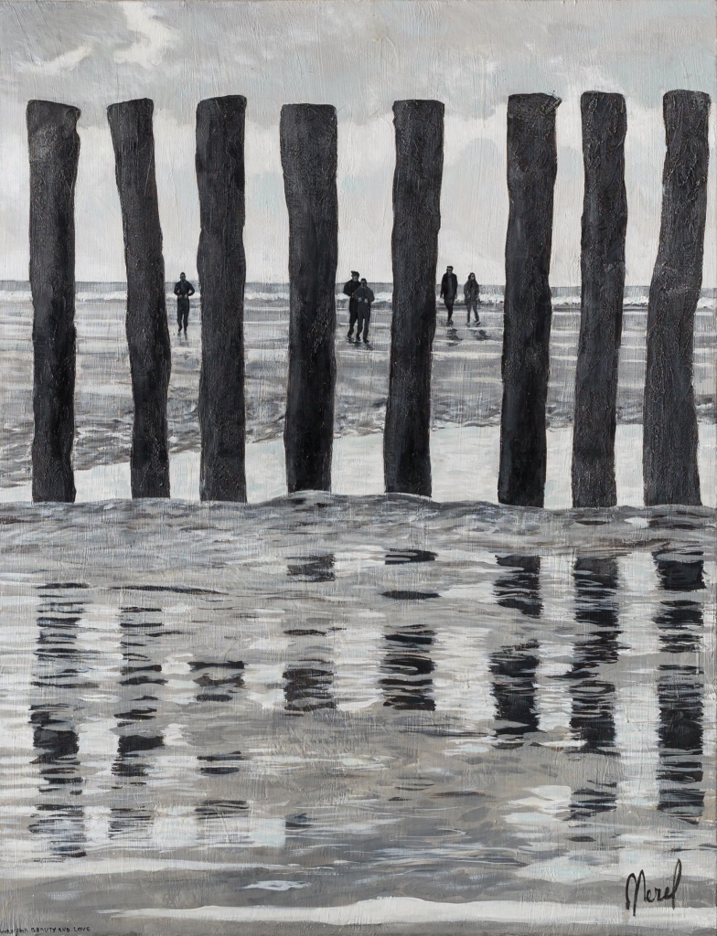 Merel - Can you see the clouds in the water 80 cm/130 cm - Leonhard's Gallery
