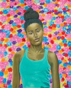 Merel - Let life be beautiful as a summerflower 130 cm/160 cm - Leonhard's Gallery