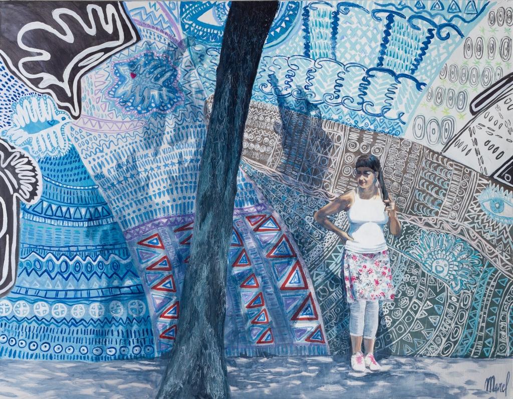 Merel - Me aterra llevar una vida ordinaria 140 cm/180 cm - Leonhard's Gallery