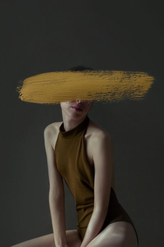 Andrea Torres - mustard - Leonhard's GalleryAndrea Torres - mustard - Leonhard's Gallery