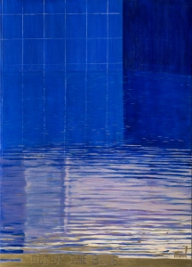 Merel - Out of the blue 100 cm/140 cm - Leonhard's Gallery