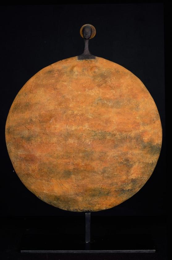 Rustique Circle - Etiyé Dimma Poulsen - Leonhard's Gallery