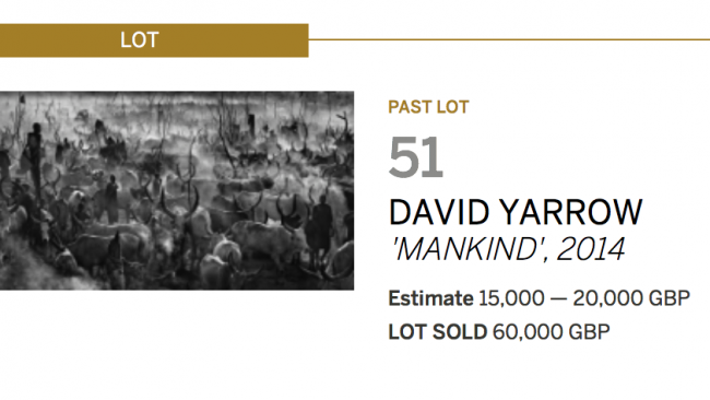 Mankind II - Sotheby's - Leonhard's Gallery