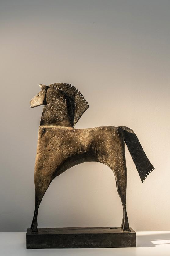 Caballo Empalio, Back - Carlos Mata - Leonhard's Gallery