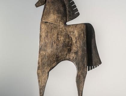 Caballo Galestio, front - Carlos Mata - Leonhard's Gallery