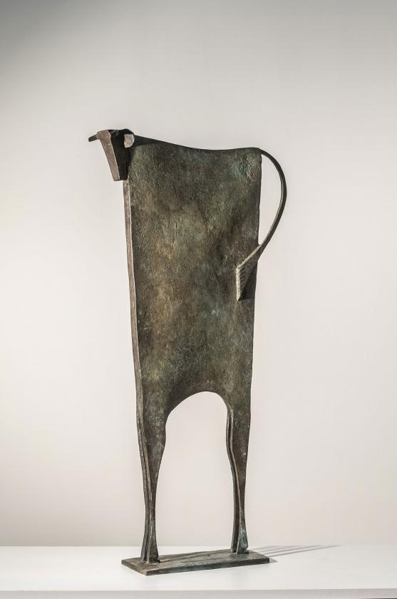 Toro Blankyo - Carlos Mata - Leonhard's Gallery