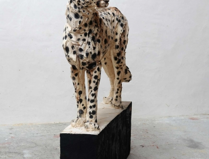 The cheetah, profile - Jürgen Lingl-Rebetez - Leonhard's Gallery