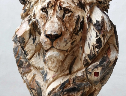 Buste De Lion - Jürgen Lingl-Rebetez - Leonhard's Gallery