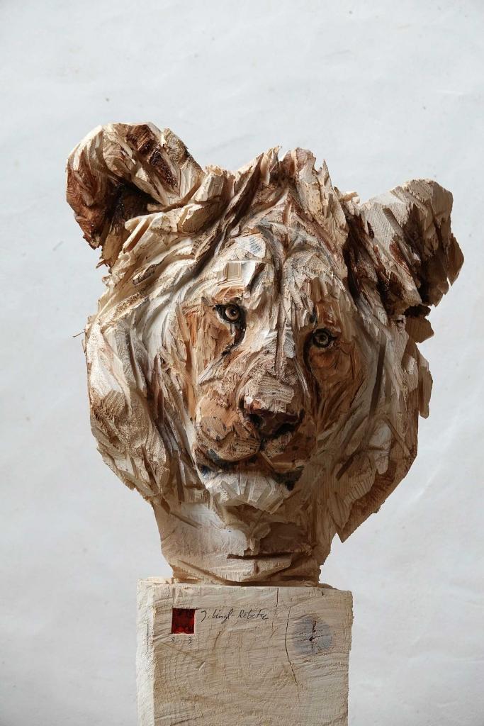 Jeune Lion - Jürgen Lingl-Rebetez - Leonhard's Gallery