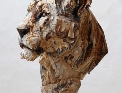 Buste De Lionne - Jürgen Lingl-Rebetez - Leonhard's Gallery