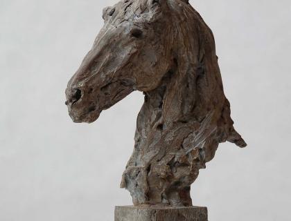 Buste De Cheval - Jürgen Lingl-Rebetez - Leonhard's Gallery