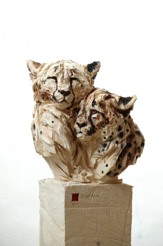 Duo Cheetah's - Jürgen Lingl-Rebetez - Leonhard's Gallery