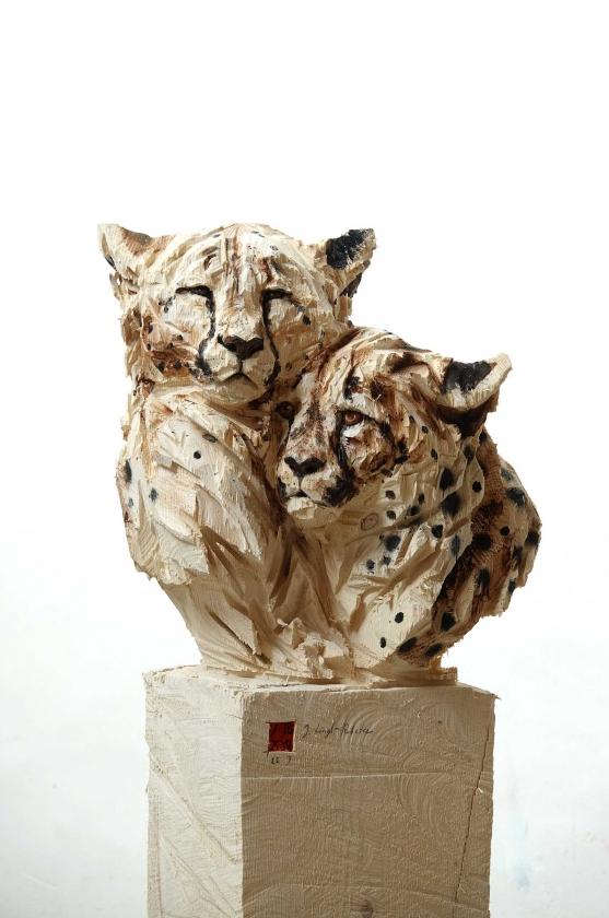 Duo Cheetah's - Jürgen Lingl-Rebetez - Leonhard's Gallery
