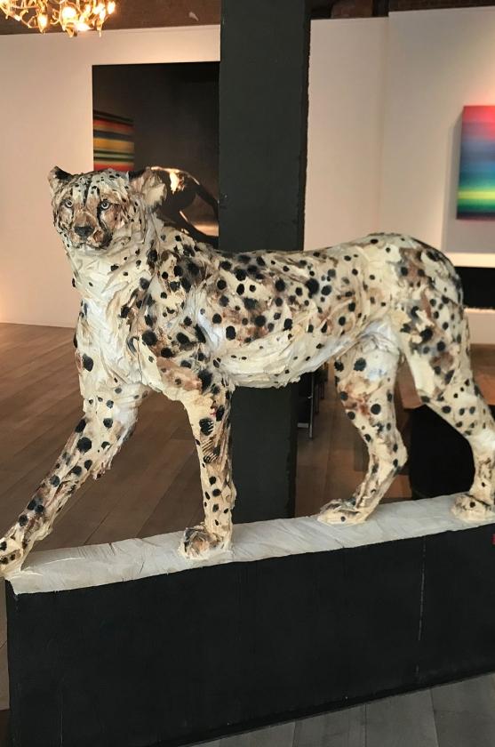 Walking Cheetah - Jürgen Lingl-Rebetez - Leonhard's Gallery