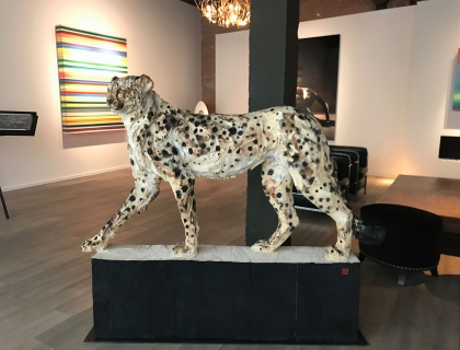 Walking Cheetah - Jürgen Lingl-Rebetez - Leonhard's Gallery