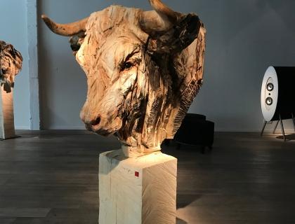 Buste De Taureau - Leonhard's Gallery - Jürgen Lingl-Rebetez