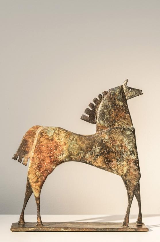 Caballo Ardias, Back - Carlos Mata - Leonhard's Gallery