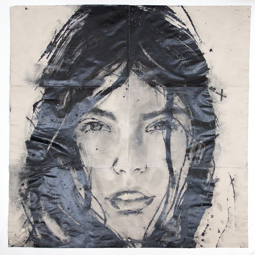 Portrait 26 - 190 x 190 cm - Lidia Masllorens - Leonhard's Gallery