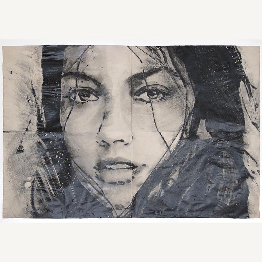 untitled portrait - 130 x 190 cm - Lidia Masllorens - Leonhard's Gallery