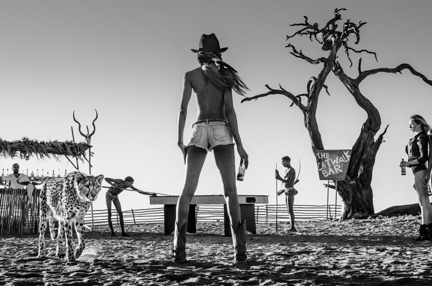 The Good, The Bad And The Ass - David Yarrow - Leonhard's Gallery