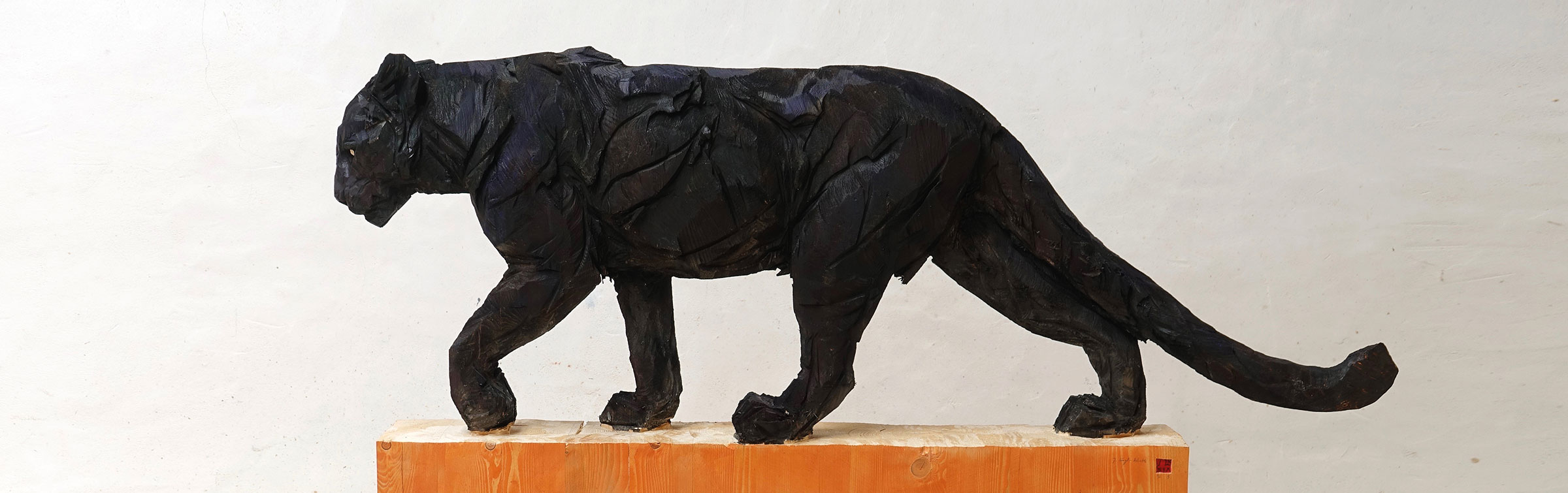Black Walking Panther, header - Jürgen Lingl-Rebetez - Leonhard's Gallery