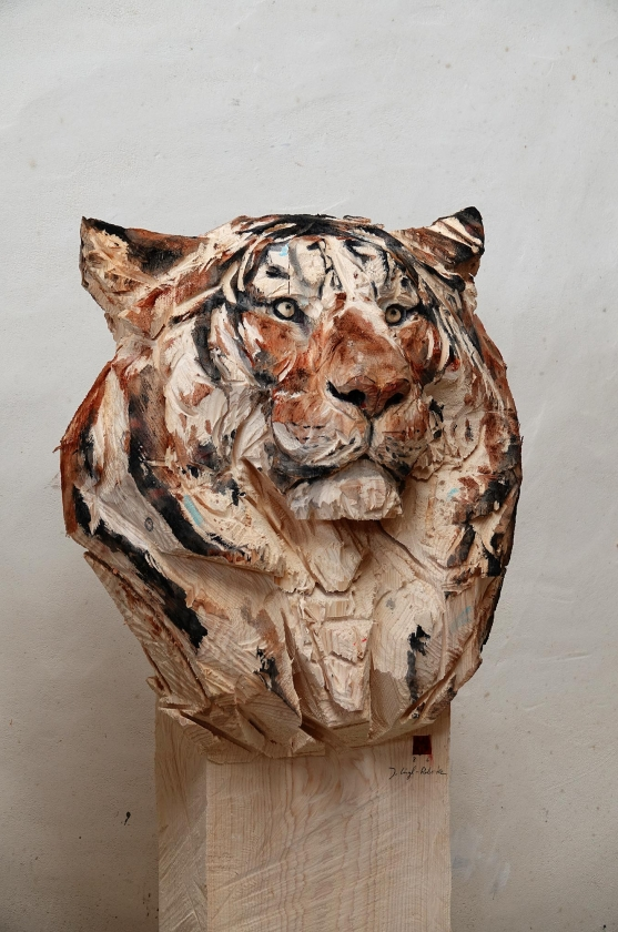 Tigre - Jürgen Lingl-Rebetez - Leonhard's Gallery