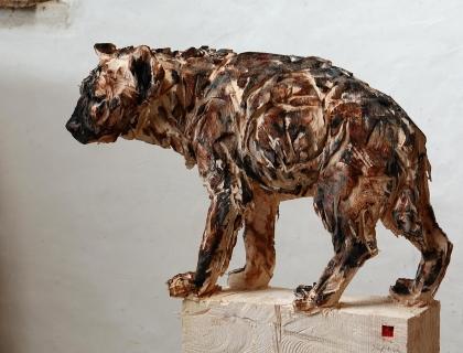 Hyene - Jürgen Lingl-Rebetez - Leonhard's Gallery