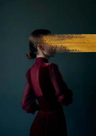 Andrea Torres - Vermilion - Leonhard's Gallery