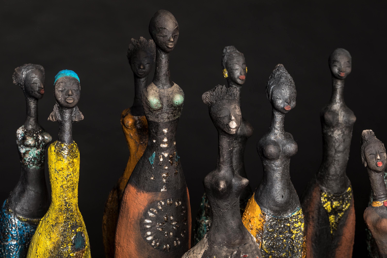 Etiyé Dimma Poulsen - Exhibition - Leonhard's Gallery