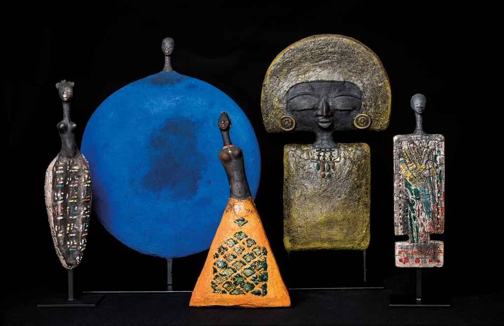 Group Picture - Etiyé Dimma Poulsen - Leonhard's Gallery