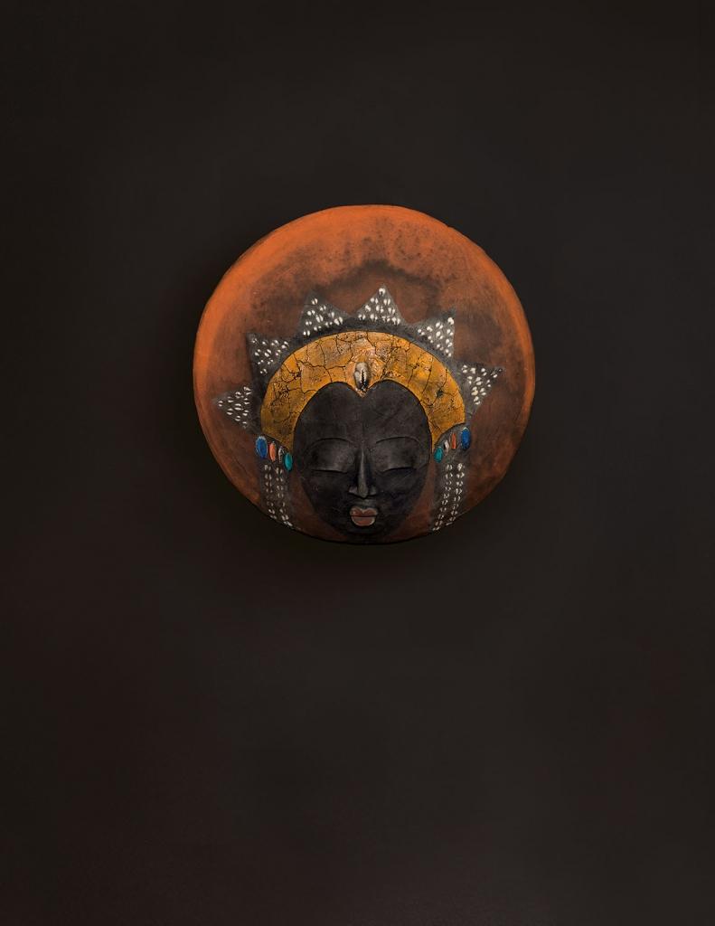 'Spirit Of The Ancestors' - Etiyé Dimma Poulsen - Leonhard's Gallery